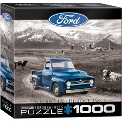 Puzzle 1000 piese 1954 Ford F-100 Heritage Ranch