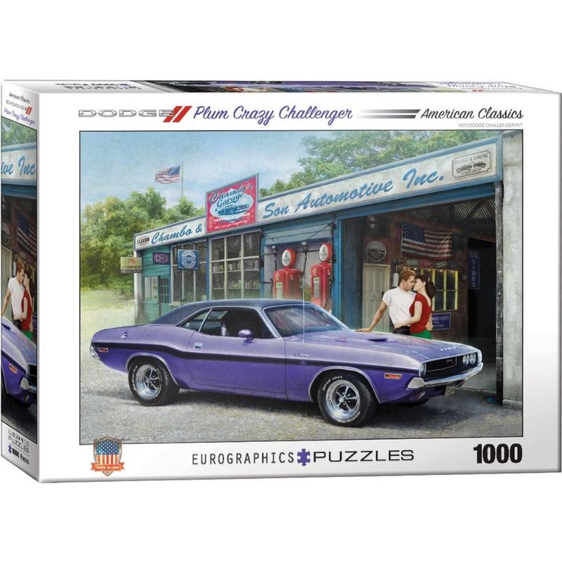 Puzzle 1000 piese Plum Crazy Challenger-Greg Giordano