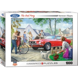 Puzzle 1000 piese The Red Pony-Nestor Taylor