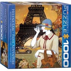 Puzzle 1000 piese Paris Adventure-Helena Lam (mic)
