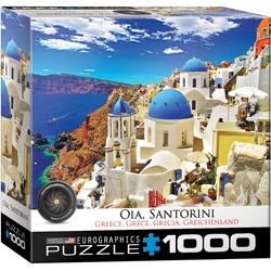 Puzzle 1000 piese Oia Santorini Greece