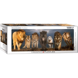 Puzzle 1000 piese Big Cats