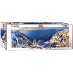 Puzzle 1000 piese Santorini Greece