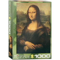 Puzzle 1000 piese Mona Lisa-Leonardo da Vinci