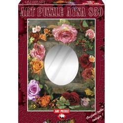 Puzzle 850 piese - Oglinda Rose beauty - ALBERTO ROSSINI