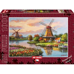 Puzzle 1000 piese - Windmills - SUNG KIM