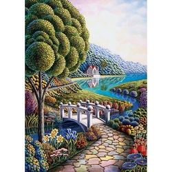 Puzzle 1000 piese - Flower Bay - ANDY RUSSELL