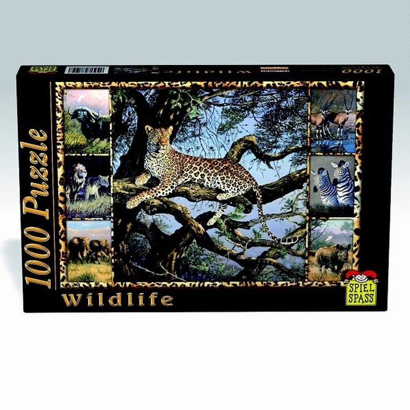 Puzzle Wildlife Leopard 1000 piese