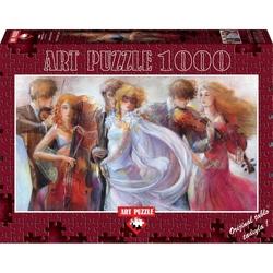 Puzzle 1000 piese - Panoramic Just Love - LENA SOTSKOVA