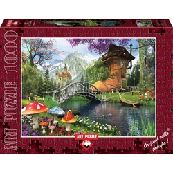 Puzzle 1000 piese The Old Shoe House - DOMINIC DAVISON