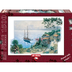 Puzzle 1500 piese - The Bay - PETER MOTZ