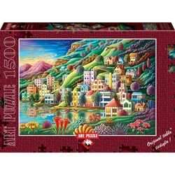 Puzzle 1500 piese Hidden Harbor - ANDY RUSSELL