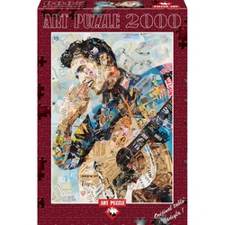 Puzzle 2000 piese Elvis - INES KOUIDIS
