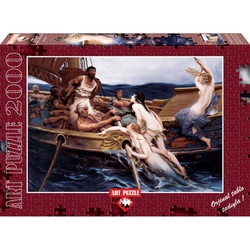 Puzzle 2000 piese Ulysses And The Sirens - H. JAMES DRAPER