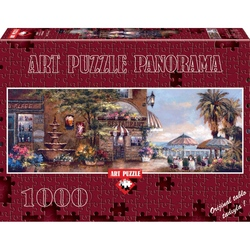 Puzzle 1000 piese Panoramic Cafe Walk II - JAMES LEE