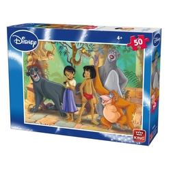 Puzzle 50 piese Jungle Book (buc)