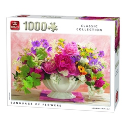 Puzzle 1000 piese Language Of Flowers (buc)