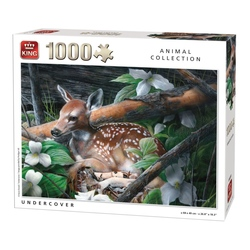 Puzzle 1000 piese Undercover (buc)