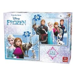 Puzzle 24-50 piese Frozen (buc)
