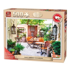 Puzzle 500 piese Terrace In Europe (buc)