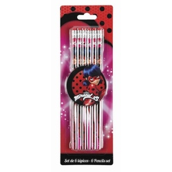 Set 6 creioane LADYBUG MARINETTE
