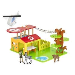 Statie spital safari - Figurina Papo