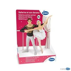Balerina+partener - Figurina Papo