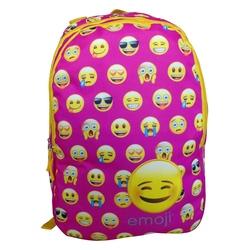 Ghiozdan Emoji roz