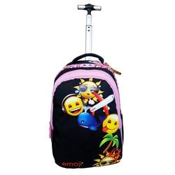 Ghiozdan cu troler Emoji Funny 38 cm