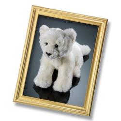 Jucarie din plus - Pui leu alb 23 cm