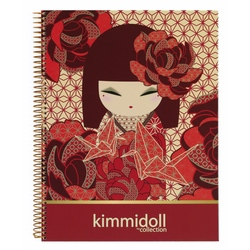Carnet A4 120 file Kimmidoll Kazuna
