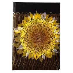 Agenda  A5 embosata Starry Sunflower