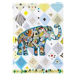Agenda  A5 embosata Ethno Elephant