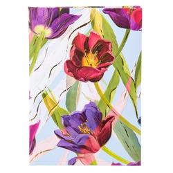 Agenda  A5 embosata Tulips