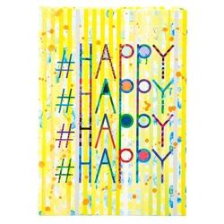 Agenda  A5 embosata Happy