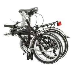 """Bicicleta pliabila 16"""" aluminiu 6V roata H24"""