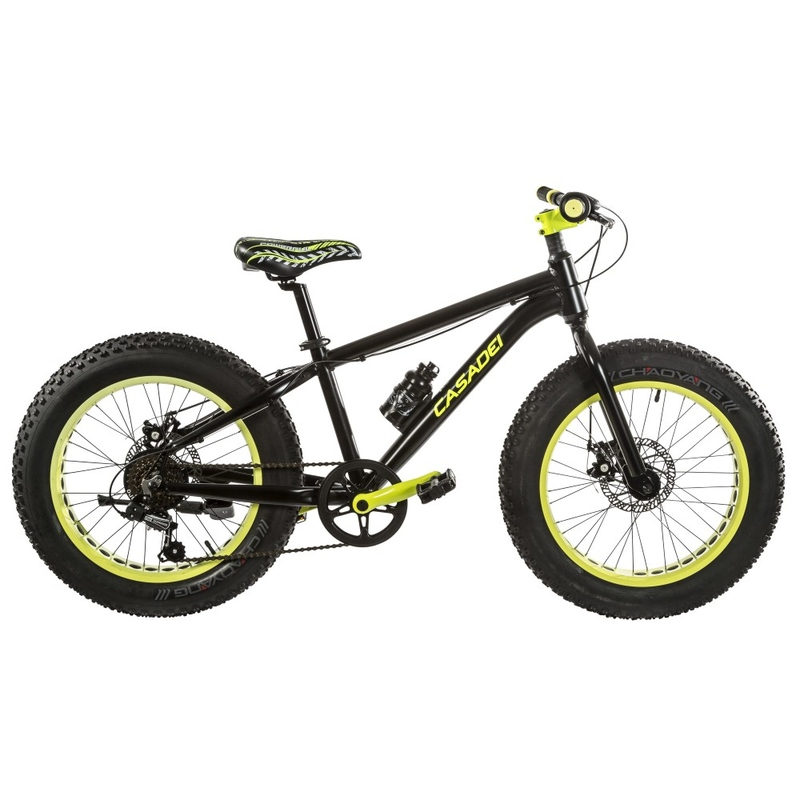 "Bicicleta Mountain Bike 20"" Fat Bike 7V M-Disk"