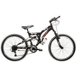"""Bicicleta Full Suspension 24"""" Aluminiu 18 viteze"""