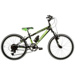 "Bicicleta Mountain Bike 20"" Vercticala 6V, Suspensie pe furca"