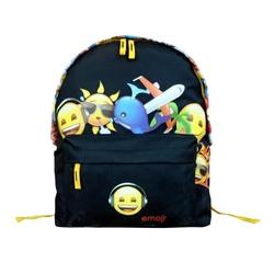 Ghiozdan simplu Emoji Friends