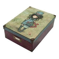 Gorjuss Cutie pentru depozitare mare-The Hatter