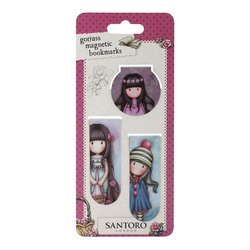 Set semne carte magnetice- Rosie, Pom Pom, Oops a Daisy