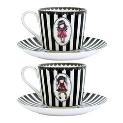 Gorjuss Set cescute ceai - Ladybird, Ruby