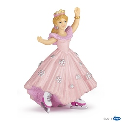 Figurina Papo - Printesa roz cu patine