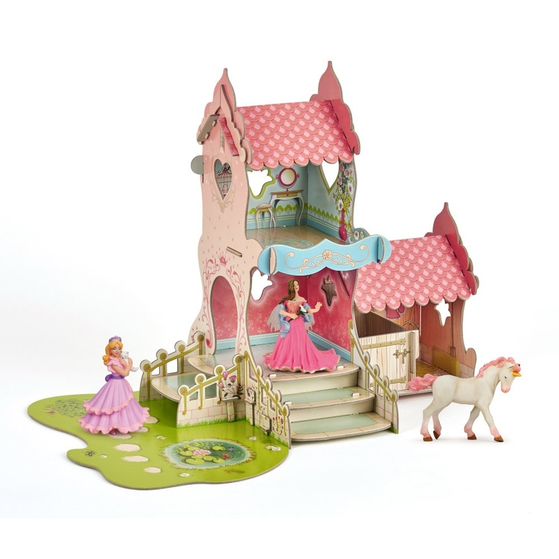 Figurina Papo - Set castel+3 figurine
