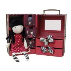 Santoro Gorjuss Caseta cutie bijuterii 6 sertare+papausa+accesorii par New Hights 38 cm