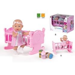 CB-Bebelus in patut cu accesorii cu sunet 2 modele asortate