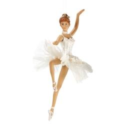 Balerina dansand cu rochie din tiul ornament