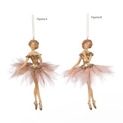 Zana decorativa costumatie tiul roz 16 cm