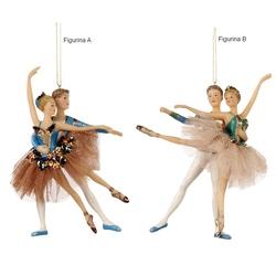 Cuplu balerini cosmatie paun-tiul ornament